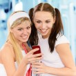 Two beautiful sportswomen — Stock Photo #3764469