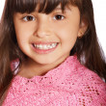 Латинские ребенок девочка — Стоковое фото