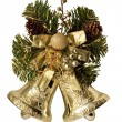 Christmas decoration bells — Stock Photo