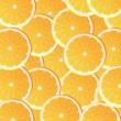 Stock Vector: Vector background with oranges