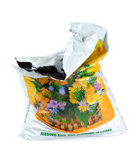 Pack Parcel Sack Of Soil Ground — Stock Photo