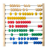 Child Abacus Counting Frame — Stock Photo