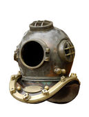 Old Diving Helmet — Stock Photo
