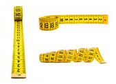 Tape measure isolated — 图库照片