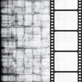 Film black white background — Stock Photo