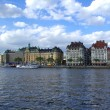Stockholm`s embankment — Photo