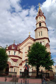 The church of St. Nicholas in Vilnius — Stock Photo