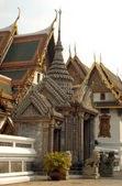 Wat Phra Kaeo in Bangkok — Stock Photo