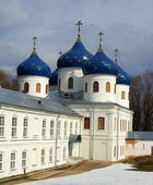 Cathedral at St`George monastery — Stock Photo