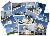 Ancient orthodox churches — Stock Photo