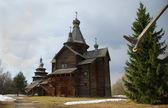 Iglesia rusa de madera — Foto de Stock