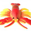 Toy crayfish on white — Stock Photo #2890568