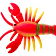 Toy crayfish - Stock Photo
