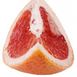 Pomelo on white close up — Stock Photo
