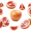 Stock Photo: Fresh pomelo