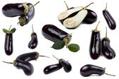 Fresh aubergine — Stock Photo