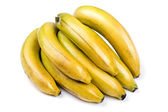 Banana on white background — Stock Photo