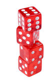 Game cube on white — Stock Photo