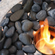 Stones and flame — Stock Photo #3485959