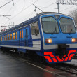 Electric passenger train — Stockfoto