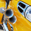 Stock Photo: Yellow motorcycle