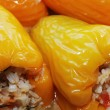 Stuffed peppers - Stock Photo