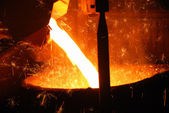 Smelting — Stock Photo