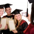Group of students — Stock Photo #3740375