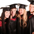 Group of happy students — Stock Photo #3740495