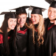 Royalty-Free Stock Photo: Group of happy students