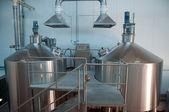 Modern Brewery — Stock Photo