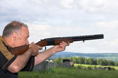 Sports skeet — Stock Photo