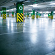 Parking garage, underground interior without car — Stock Photo #3165259