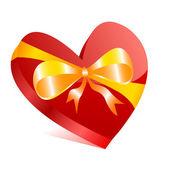 Heart box — Stock Vector