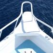 Stock Photo: Boat bow - detail