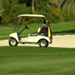 Golf car — Stock Photo #2699511