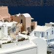 Beautiful architecture of Oia - Stock Photo