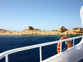 Tatil tekne — Stok fotoğraf