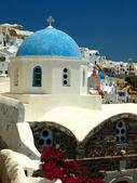 Santorini wyspy, cyklady, grecja — Zdjęcie stockowe