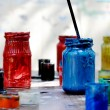 Stock Photo: Paints