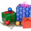 Stock Photo: Isolated Presents