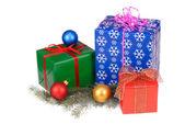 Presentes isoladas — Foto Stock