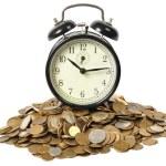 tijd is geld — Stockfoto