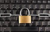Locked Keyboard — Stock Photo