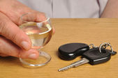 Drink and Drive — Stock Photo