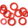 Red Gaskets — Stock Photo