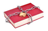 Book in Chains — Stock Photo