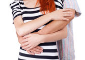 Hugging couple — Stock Photo