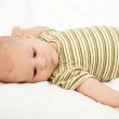 Two months old baby boy — Stock Photo