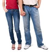 Couple hand's in hand — Foto de Stock